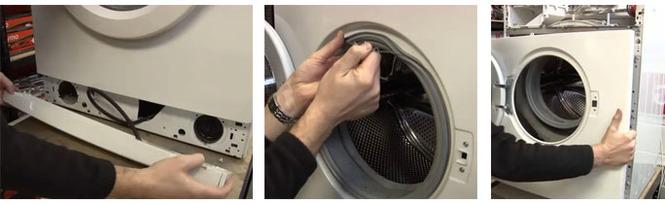 Замена тэна в стиральной машине samsung